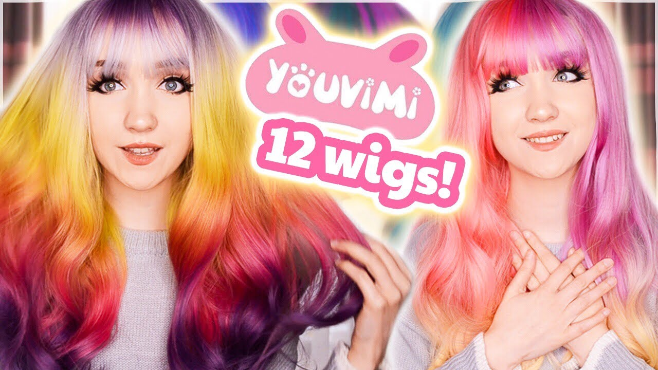 GIANT YOUVIMI WIG HALL 😱 REVIEWING 12 WIGS! (YOUVIMI 2020 COLLECTION + BONUS WIGS) 💖✨