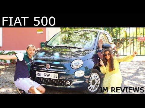 Fiat 500 Lounge 2019 - O Carro Da Minha NAMORADA!!! - JM REVIEWS 2019