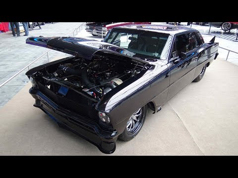 1,200 HP Pro Touring 1966 Nova Twin Turbo Monster