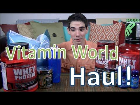 Vitamin World Haul! | Jason Caceres