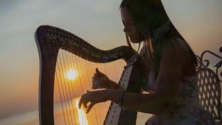 Небесная арфа Инструментальная 😌 Фоновая музыка спокойной арфы для расслабления