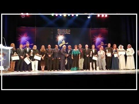 شاهد حفل توزيع جوائز مهرجان الإسكندرية السينمائى علي الفائزين  - 23:54-2019 / 10 / 13