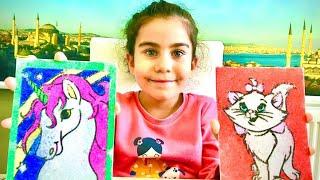 Kum Bayoma Yaptım | Çocuk Videoları