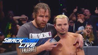 Dean Ambrose & James Ellsworth – Szenen die nicht im TV liefen: SmackDown LIVE Fallout, 18. Oktober