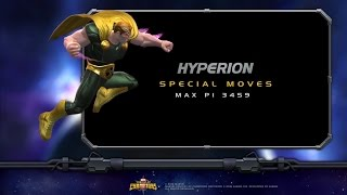 Hyperion Special Moves | Marvel Contest of Ch...