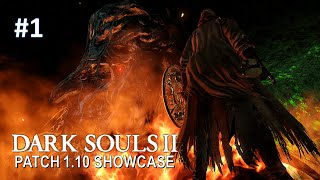 Dark Souls 2, Patch 1.10: First encounter with Aldia, Scholar of the First Sin