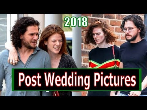 Kit Harrington and Rose Leslie Post Wedding Pictures