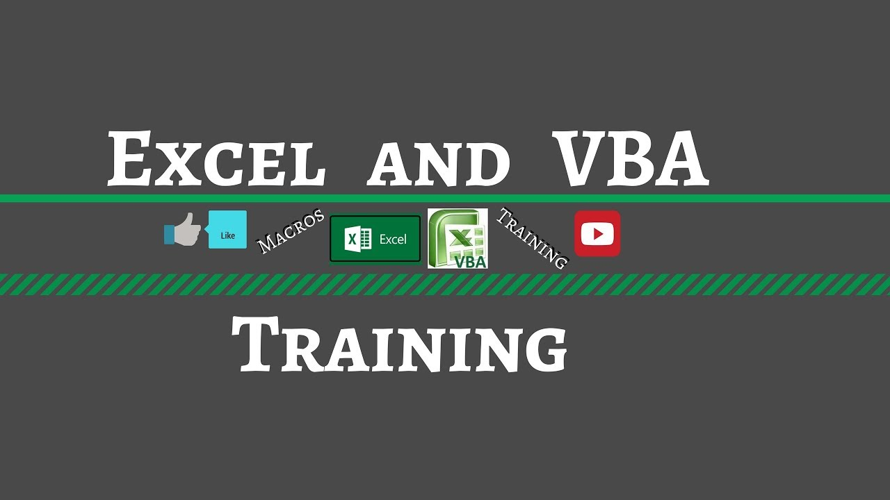 vba for excel how to automate and reconcile data youtube