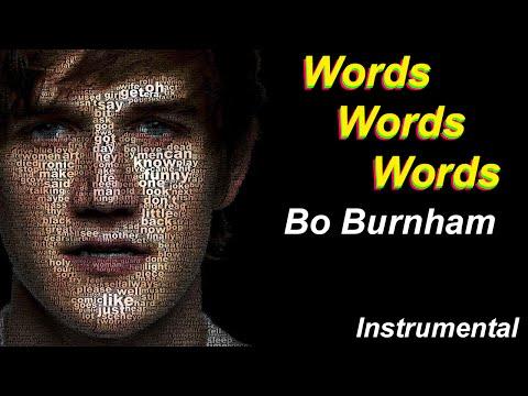 Bo Burnham - Words Words Words (Instrumental)