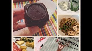 What I eat in a day #9 | Cosa mangio in un giorno| Ricetta insalata di Quinoa e Sacher Torte