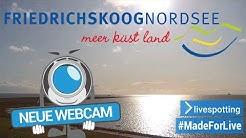 Neue Full-HD Webcam in Friedrichskoog mit Blick auf das Wattenmeer