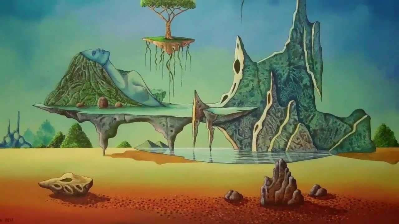 Arte Surrealista y Abstracto Artista David Sosa - YouTube