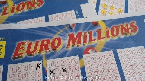 Euromillions Zahlen Dienstag, 26.09.2017