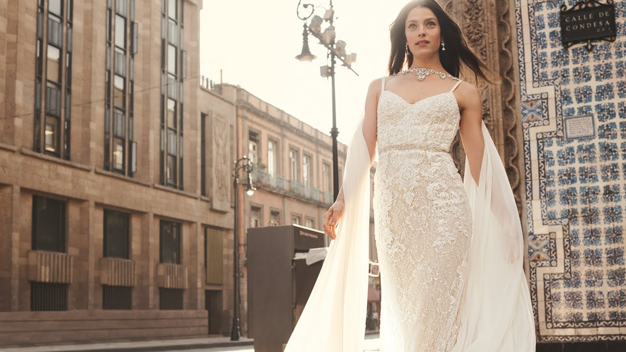 f5240dcf3dd8f Introducing the David's Bridal Spring 2019 Collections - YouTube