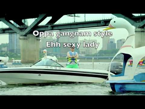 Gangnam Style - PSY [Official Video] [Lyrics] [Korean + English]