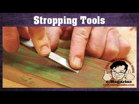 The stropping myth and how to sharpen tools with leather