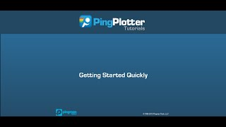Getting Started With PingPlotter