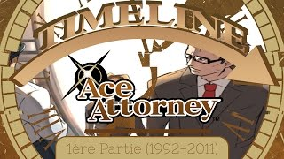 Timeline - Ace Attorney - Partie 1 (1992-2011)