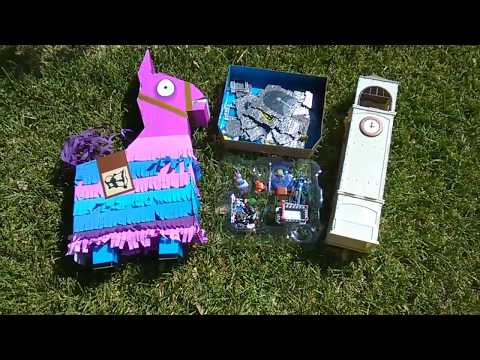 Fortnite Fridays! Jumbo Jazwares Loot Llama Piñata! Frozen Raven + The Ice King! 100 Piece Set!