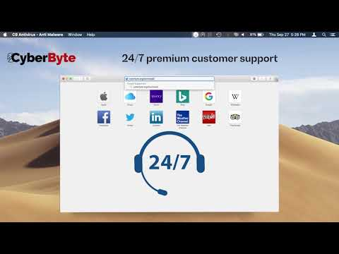 CyberByte Antivirus - Certified Mac Antivirus solution