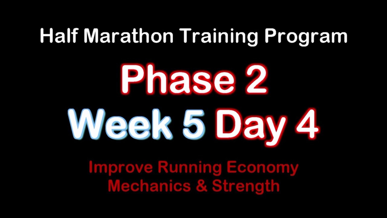 Week 5 training materials