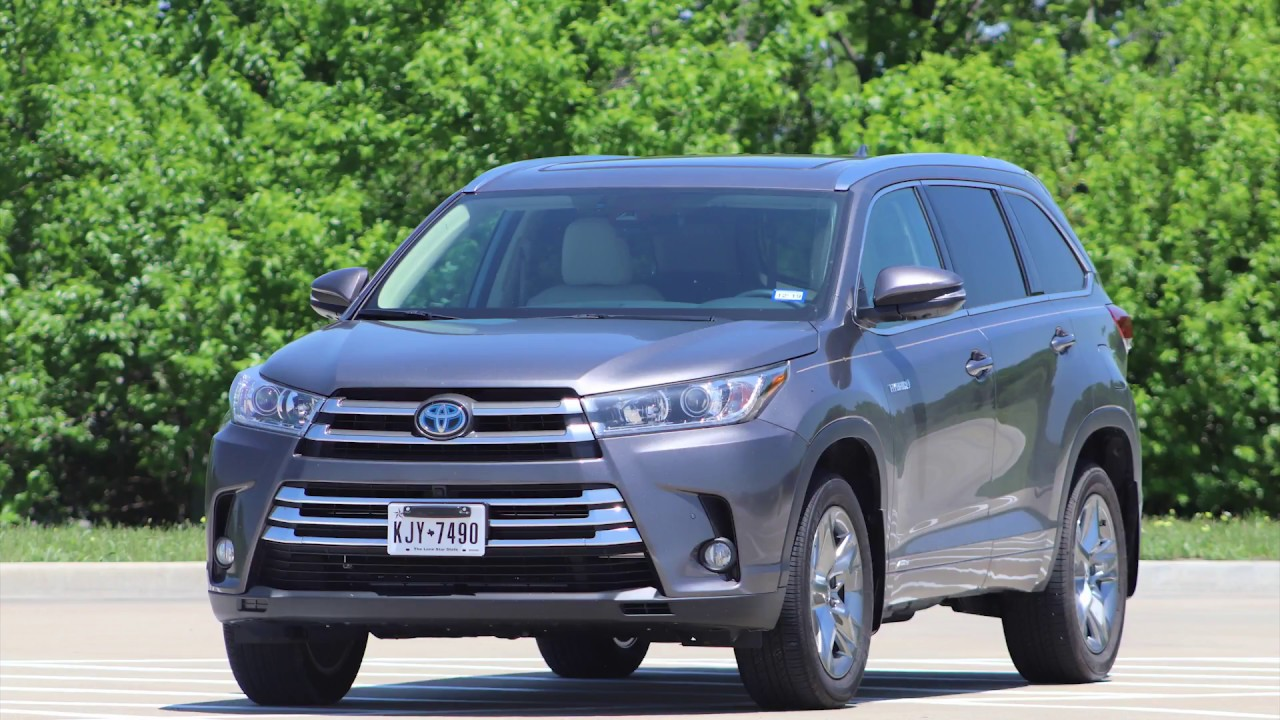 2018 Toyota Highlander Hybrid Review