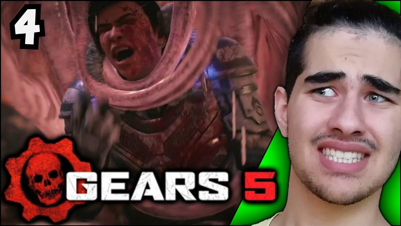 Gears 5   #4   خیلی این پارت عن تو عنه😬