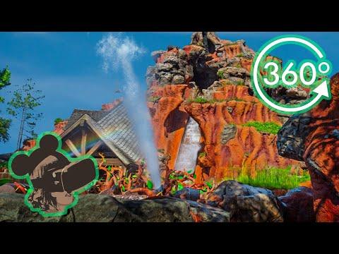 360º 4K Ride on Splash Mountain at Magic Kingdom