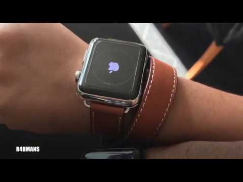 Unboxing Hermes Double Tour Band Apple Watch Stainless Steel