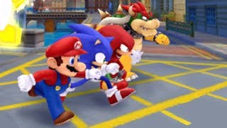 Mario and Sonic at the London 2012 Olympic Games - London Party