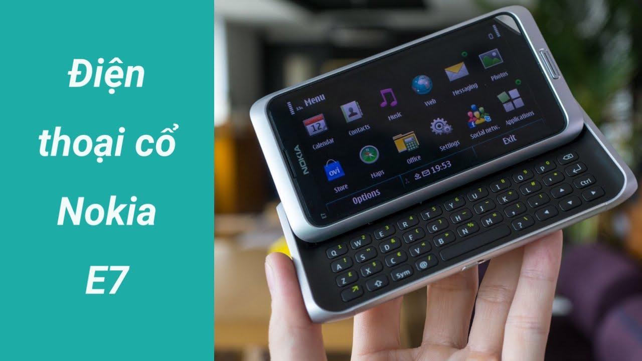 Mở hộp Nokia E7 tìm lại kỉ niệm năm xưa… | Unboxing Nokia E7 | LKCN