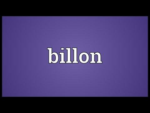 Header of billon