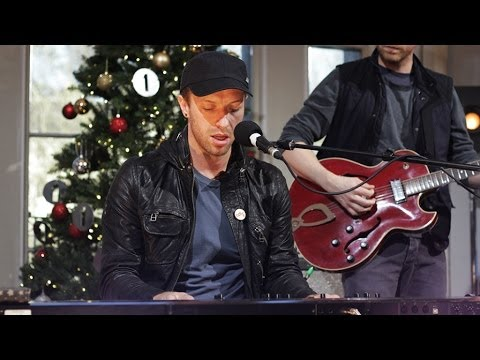 Coldplay - White Christmas in the Christmas Live Lounge