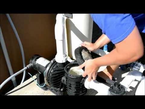 Pool Pump Repair Part 1 of 3.wmv