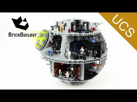 Lego Ucs Star Wars 75159 Death Star Lego Speed Build Youtube