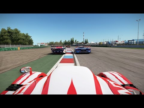 Project CARS 2 Test Race 24 Brno Toyota TS020 GT-One Onboard