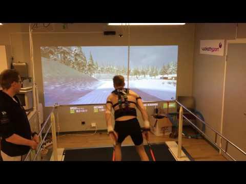 Exploring virtual reality for athletes training