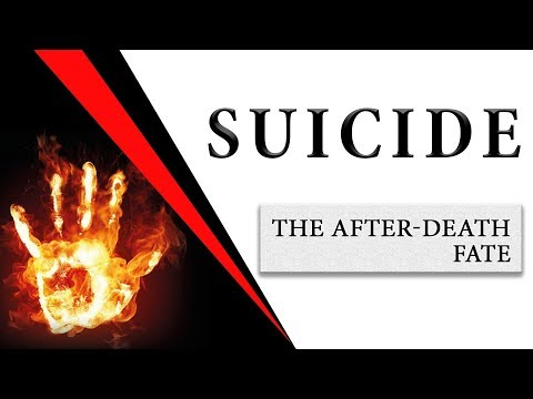 Suicide. The After-Death Fate