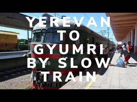 ARMENIA - Yerevan To Gyumri By Slow Train