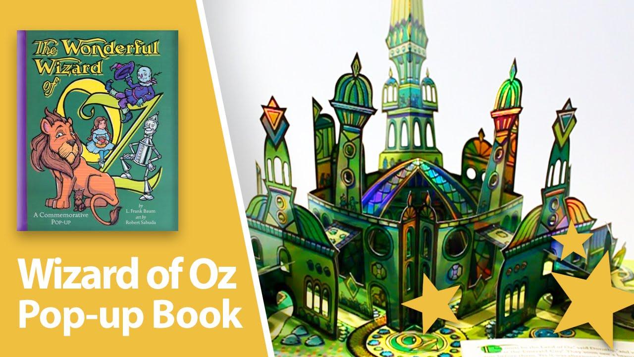 The Wonderful Wizard Of Oz Pop Up Book By Robert Sabuda
