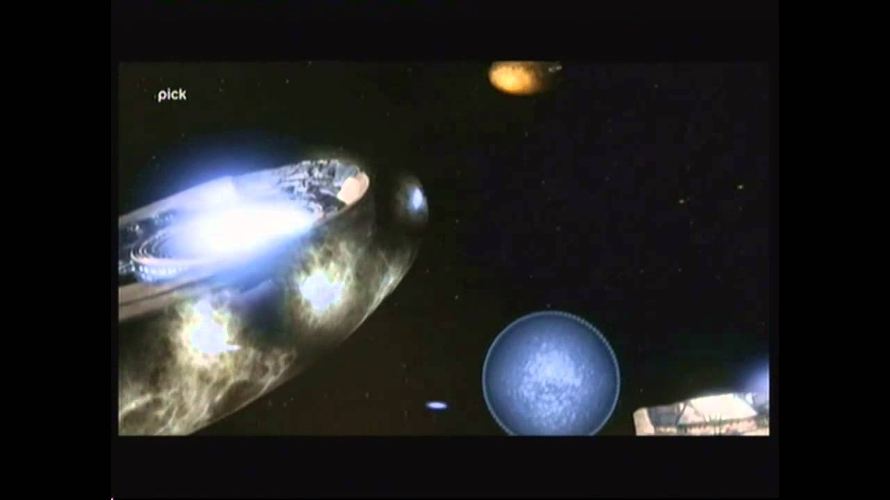 Download Stargate SG-1 - Galactic battle scene (at the Supergate) - 'Camelot' s09e20 (in English)