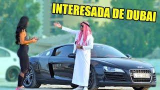 ARABE MILLONARIO EN DUBAI PONE EN SU LUGAR A INTERESADA
