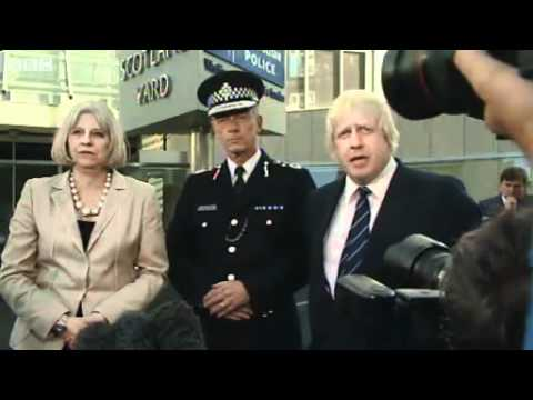 Bernard Hogan-Howe New Metropolitan Police Commissioner  - NOTW Phone Hacking *NEW*
