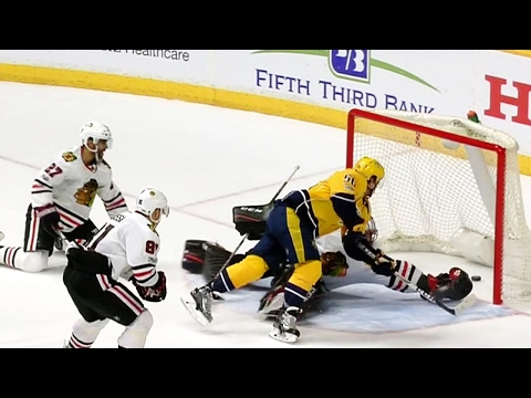 Gotta See It: Fiala walks around Crawford to score OT winner