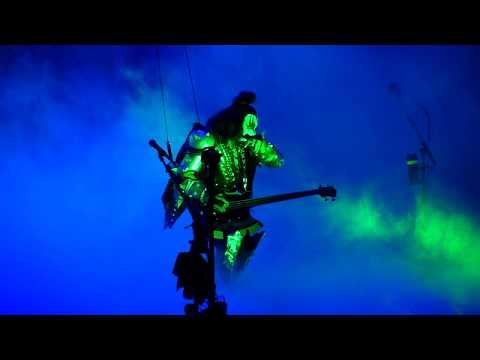 KISS - Bass Solo / God Of Thunder - o2 Arena, London - May 2017