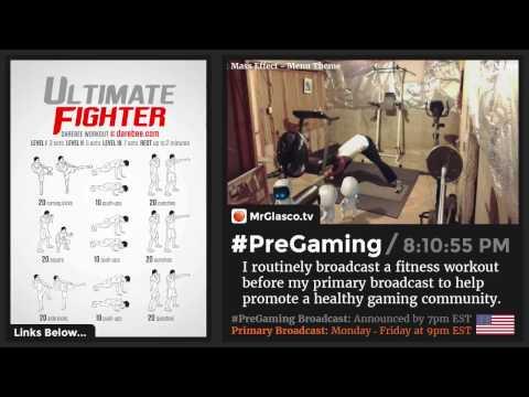 #PreGaming: DAREBEE Ultimate Fighter Workout 💪