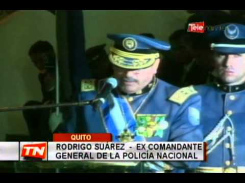 Posesionan al nuevo comandante general de policía Fausto Tamayo