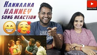 Kannaana Kanney Song Reaction | Malaysian Indian Couple | Viswasam Songs | Ajith Kumar