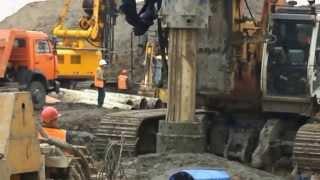 Строительство участка метро #Некрасовка