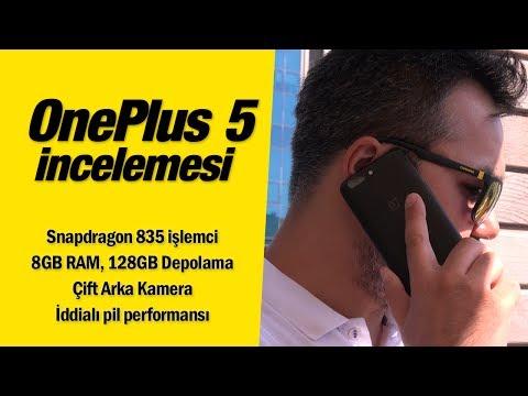 OnePlus 5 incelemesi: 8GB RAM'li telefon
